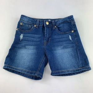 7 FOR ALL MAN KIND girl's jean shorts